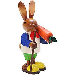 Hasenmann mit Karotte  -  23cm