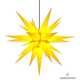 Herrnhuter Moravian Star A13 Yellow Plastic  -  130cm/51 inch