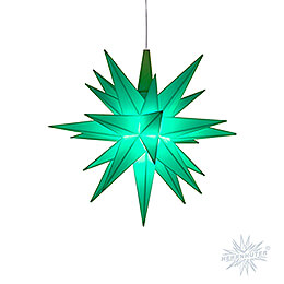 Herrnhuter Moravian Star A1e Mint Green Plastic, Special Edition 2020  -  13cm / 5.1 inch