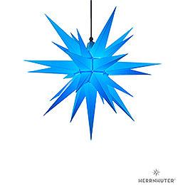 Herrnhuter Stern A7 blau Kunststoff  -  68cm