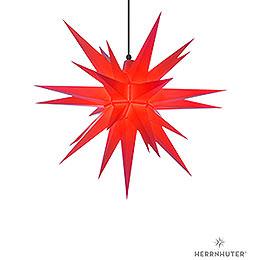 Herrnhuter Stern A7 rot Kunststoff  -  68cm