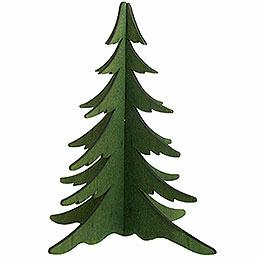 Holz - Steckbaum grün  -  19cm