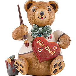 Hubiduu  -  Painting Hearts  -  7cm / 2.8 inch