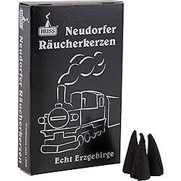 Huss Neudörfer Räucherkerzen  -  Dampflokduft