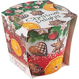 JEKA - Duftkerze  -  Christmas Flavours  -  Christmas Delights  -  8,1cm