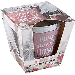 JEKA Scented Candle  -  Warm & Cozy Home  -  Warm Touch  -  8,1cm / 3.2 inch