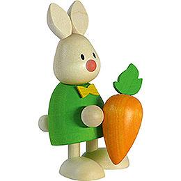 Kaninchen Max mit großer Möhre  -  9cm