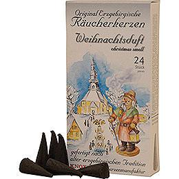 Knox Incense Cones  -  Original Ore Mountain Incense Cones  -  Christmas Scent