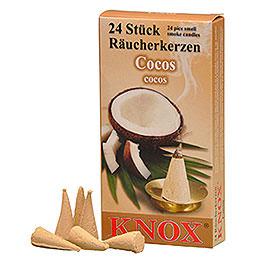 Knox Räucherkerzen  -  Cocos