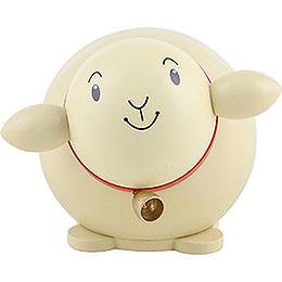 Kugelfigur Schaf bunt  -  6cm