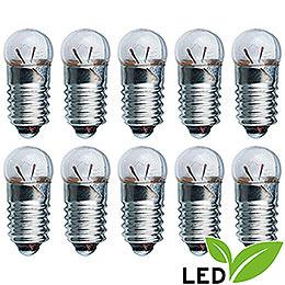 LED - Glühlampe  -  Sockel E5,5  -  3,5V