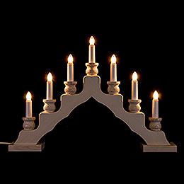 Light Arch  -  Swedish Style  -  White  -  LED  -  33cm / 13 inch