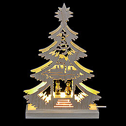 Light Triangle  -  Carol Singers  -  LED  -  23.5x15.5x4.5cm / 9.06x5.91x1.57 inch
