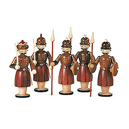 Manger - Figurines  -  5 Soldiers  -  13cm / 5 inch