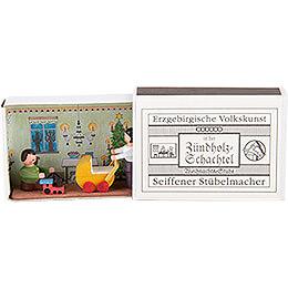 Matchbox  -  Christmas Parlor  -  3,8cm / 1.5 inch