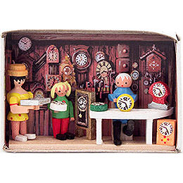 Matchbox  -  Clockmaker  -  4cm / 1.6 inch