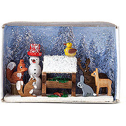 Matchbox  -  Feeding the Animals  -  4cm / 1.6 inch
