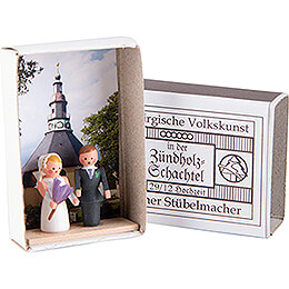 Matchbox  -  Wedding  -  3,8cm / 1.5 inch