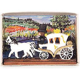 Matchbox  -  Wedding Carriage  -  4cm / 1.6 inch