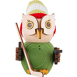 Mini Owl Ice Hockey  -  7cm / 2.8 inch