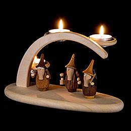 Modern Light Arch  -  Gnomes  -  25x13x10cm / 9.8x5.1x3.9 inch