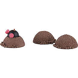 Mole with 3 Hills  -  3cm / 1 inch