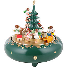 Music Box Angel's Secrecy Silent Night  -  18cm / 7.1 inch