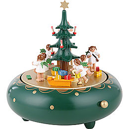 Music Box Christmas Eve  -  18cm / 7.1 inch