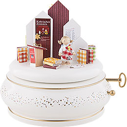 "Music Box ""Katharinchen Cinnamonstar's Wonderful World""  -  15cm / 5.9 inch"