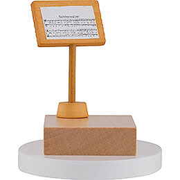 Music Stand for Snowman Conductor  -  7cm / 3 inch