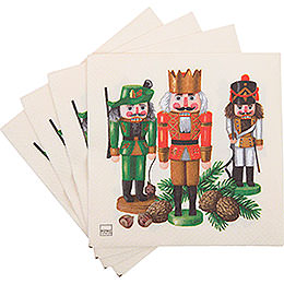 Napkins Nutcracker Trio  -  20 pcs.