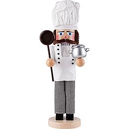 Nussknacker Chefkoch mit Topf  -  46cm