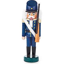 Nussknacker Infanterist blau  -  13cm