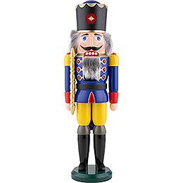Nussknacker König blau  -  50cm