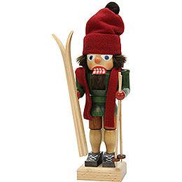 Nussknacker Skifahrer  -  28,5cm