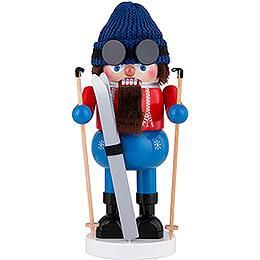 Nussknacker Skifahrer  -  34cm