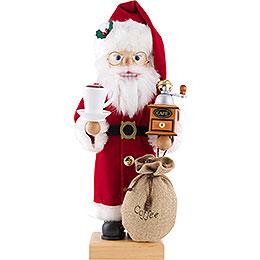 Nussknacker Weihnachtsmann Kaffeefreund  -  46,5cm