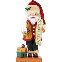 Nussknacker Weihnachtsmann mit Namensliste limitiert  -  48cm