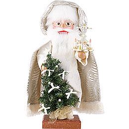 Nussknacker Weihnachtsmann mit Pyramide 45cm