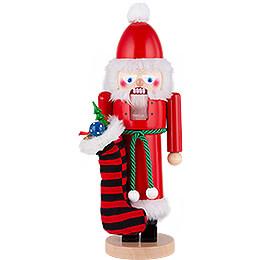 Nussknacker Weihnachtsmann mit Socken  -  42cm
