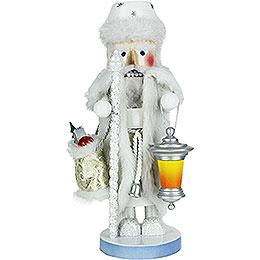 Nussknacker Weisser Weihnachtsmann  -  45cm