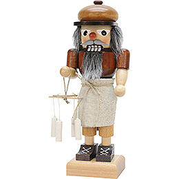 Nutcracker  -  Candle Maker, Natural  -  25cm / 9.8 inch