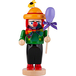 Nutcracker  -  Chubby Clown Ferdinand  -  32cm / 12.6 inch