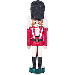 Nutcracker  -  Dane Red - White  -  15cm / 5.9 inch