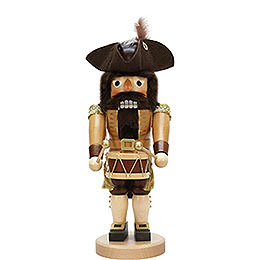 Nutcracker  -  Drummer Natural  -  40cm / 15.7 inch