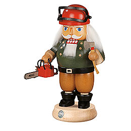 Nutcracker  -  Forest Worker with Saw  -  23cm / 9 inch