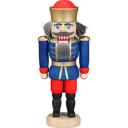 Nutcracker  -  King Blue  -  12cm / 4.7 inch