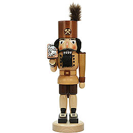 Nutcracker  -  Miner with Ore Box Natural  -  42,5cm / 16.7 inch
