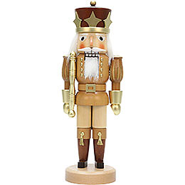 Nutcracker  -  Prince Natural/Gold  -  39,0cm / 15.4 inch