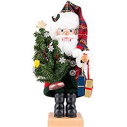 Nutcracker  -  Santa Claus Chequers  -  49cm / 19.3 inch